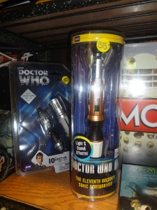 Doctor Who Sonic Screwdrivers