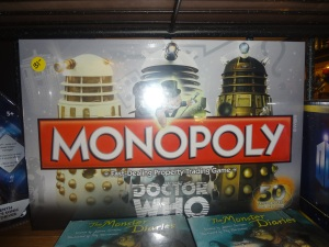 Doctor Who Monopoly Version
