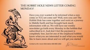 newletter hobbit hole